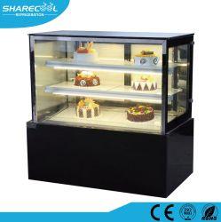 Ventilator-abkühlender Kuchen-Schaukasten-Bildschirmanzeige-Kühler mit LED-Lichtern