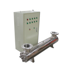 En acier inoxydable de grande capacité stérilisateur UV pour la désinfection de l'eau