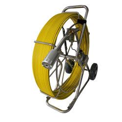 Varilla de empuje resistente al agua de la Cámara de inspección de alcantarillado de vídeo