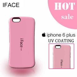 Китай оптовой высокое качество глянцевое покрытие УФ Iface Молл чехол для iPhone 6 Plus, Designer для сотового телефона Samsung, розового цвета ИЗ ТЕРМОПЛАСТИЧНОГО ПОЛИУРЕТАНА iPhone 6 плюс Shell / крышка
