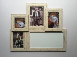 Cadre photo magnétique & Wooden aimant Picture Frame