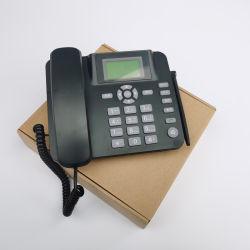 Telefono senza fili fisso della linea terrestre di GSM con la macchina di risposta e la gestione di SMS