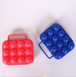 Outdoor Kunststoff Tragbare 12 Eier Träger / Halter Stoßfeste Aufbewahrungsbox - Camping Reisen und Wandern