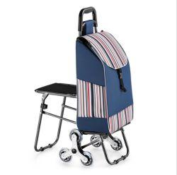 Gran capacidad de la bolsa de compras de supermercado en bolsas con carro y silla de ruedas