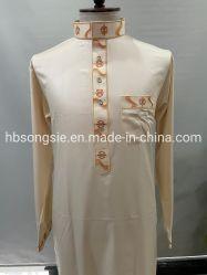 服はパンツドレスメンズガーメントマルチムヒジャブにぴったり ガウンドレスイスラム教徒の衣類 Abaya Price Long Gown Thobe. アラブ・ローブ・ドレス