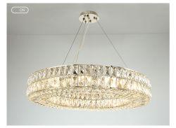 ثريا كريستالية كبيرة عالية الجودة LED بندنت مصباح سقف فاخر غرفة نوم بغرفة معيشة / طعام
