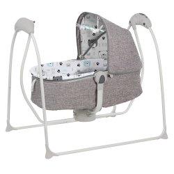 مهد سوينغ الطفل الكهربائي سرير قابل للطي طفل سرير الطفل الطفل