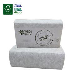 Fsc BSCI Eco Friendly Marques tissulaire Pli en Z Serviette de papier Papier sanitaire à main