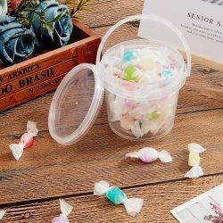 Seau de l'emballage alimentaire de qualité alimentaire seau en plastique de 2 litres/Pail adapté pour la nourriture, agenda et l'industrie de la peinture