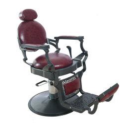 Antieke Reclining kappersstoel Beauty Salon apparatuur voor kapperswinkel
