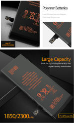 iPhone7 7p 用のホットセール充電式リチウム携帯電話バッテリ 8 x 8p X XR X Xsmax 11 11PRO 11 Promax メーカー価格 OEM 携帯電話バッテリ