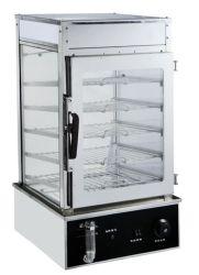 خدمة ذاتية عالية الجودة تقدم الطعام الساخن على سطح الطاولة شاشة عرض راميرز الخبز جهاز تسخين العرض