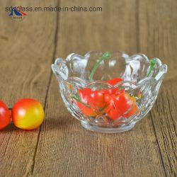 De decoratieve Kom van de Salade van het Glas van de Vorm van de Bloem Kleine voor Dagelijks Gebruik