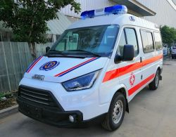 Jinbei Diesel Emergency Rescue Patient Transfer Delivery ambulance