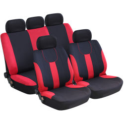Klassisches Polyester-Breathable Auto-Sitzdeckel-Set