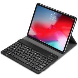 لوحة مفاتيح لاسلكية بتقنية Bluetooth لجهاز iPad PRO مقاس 11 بوصة لعام 2020 iPad PRO الجيل الثاني 360 غطاء واقٍ كامل Smart PU جراب حامل من الجلد