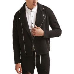 Chaqueta de motorista corto para los hombres vestidos moda casual de último diseño Moto chaquetas de cuero para hombres