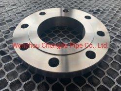 Fornecedor de métricas do Tubo Industrial anel adaptador forjar falsos 6 orifício DIN de Aço Carbono Flange da placaCdfl200