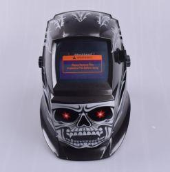 La parte superior de oscurecimiento automático de soldadura casco máscara de soldadura para el soldador