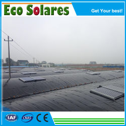 Split système collecteur solaire de chauffage à air pour le séchage de fruits de mer