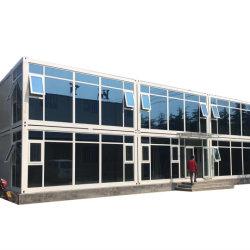 На заводе Hysun прямых продаж сегменте панельного домостроения в движимых контейнер дом 20 футов плоские Pack контейнер для домашнего офиса с высоким качеством