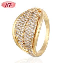 Il nuovo modo del commercio all'ingrosso dei monili di destino di stile 2020 squilla il regalo placcato oro degli anelli di cerimonia nuziale delle donne 18K per le donne