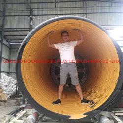Duas camadas tipo espiral dupla parede, tubo corrugado linha de extrusão/plástico tipo espiral Tubo Dwc máquinas de extrusão