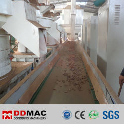 Máquina de fabricación de pellets de madera, línea de producción de pellets de arroz de aserradero