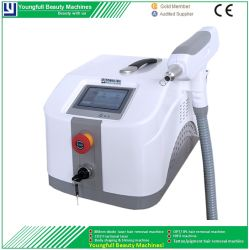 Karminrote q-Schalter Nd YAG Laser-Haut-Pigmentation-Behandlung-Maschinen-Laser-Tätowierung-Abbau-Behandlung