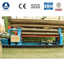 máquina de dobragem do Rolo hidráulica/mecânica simétricos 3 Rolos máquina de laminação de flexão da placa