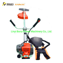 Mai Cat Ban Chai macchine agricole utensili elettrici taglierina a spazzola Tosaerba a benzina per fianchetti per impieghi gravosi a spostamento laterale con sistema di movimentazione dei prati 543RS