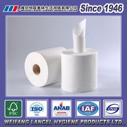 2-Lagiges Einweg-Papiertuch Mit Zentralgerichteter Zugkraft
