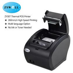 Stampante per ricevute termiche WiFi USB supporto macchina POS cassetto contanti Terminale ESC/POS, stampante per biglietti da 80 mm