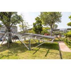 Pre-Assembly 태양 편평한 지붕 선반 Ballasted 태양 설치 시스템의 해결책