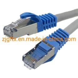 Оптическое волокно 24 AWG на мель FTP Cat5e, соединительный кабель Cat5e для изготовителей оборудования и соединительный кабель
