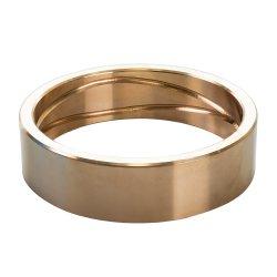 カスタム金属部分CNCの機械化の銅合金の青銅のブッシュ