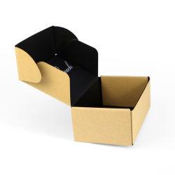 Firstail أفضل الأسعار كرافت الصانع صندوق التعبئة الأحذية النبيذ التجميل البريد البريد الملاحي زجاجة الشحن هدية التغليف