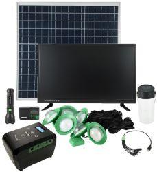 Prime d'éclairage solaire Système TV d'accueil
