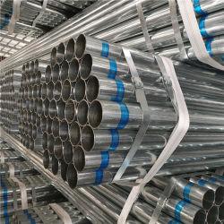 Tubo in acciaio galvanizzato Pre-galvanizzazione tubo in acciaio costruzione rotonda