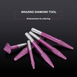 Другой тип высокотемпературной пайки мраморным фрезы алмазные сверла инструмента