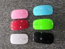 China fábrica OEM 2.4G Ratón Inalámbrico Óptico en Logo para tu iPad Mac Laoptop precio barato en el modelo 211 modelo sin pintura 211, el ratón de regalo