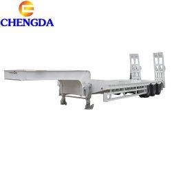 3 осей 60т для тяжелого режима работы низкая кровать Lowboy грузового прицепа для продажи