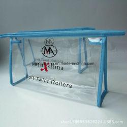Поездки косметический мешок, прозрачный водонепроницаемый поездки набор туалетных принадлежностей мешок, большая емкость косметический мешок, сумка для окончательной обработки (jp-pb003)
