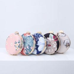Großhandel Abendtasche Digitaldruck Blumen Cottonl Damen Clutch Bag