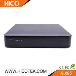 macchina fotografica ibrida della video registrazione di Digitahi di obbligazione della macchina fotografica DVR del IP della rete di 4CH 4K 8MP HD H. 265 ultra pieni Ahd+Tvi+Cvi+