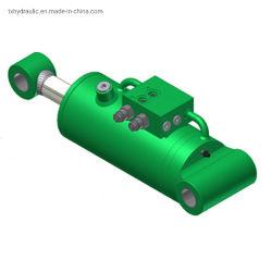 油圧ラムメーカーの工場設計カスタマイズされたエンジニアリングダブルアクティングロング 中国で販売されているストローク伸縮式油圧シリンダ