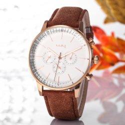 Curren моды кожаные бизнес-Quartz классические мужские часы на запястье Wy-081