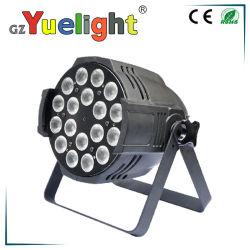 180WアルミニウムシェルLEDのディスコのUplight LEDの同価はライトを上演できる