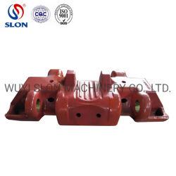Mangan-Stahl-Fahrgestell zerteilt Exkavator-Spur-Schuh KOMATSU-PC3000 PC4000