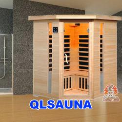 Sala de Sauna de infravermelho distante do aquecedor de carbono G3CD Esquina Sauna